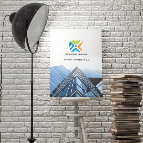 fidznet-portfolio-dana-wakaf-indonesia-poster-brand-guide